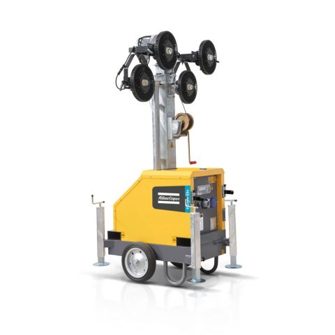 atlas copco LED-Lichtmast Highlight E3+