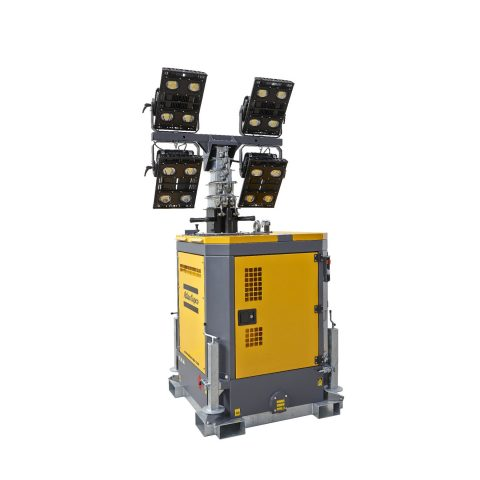 LED-Lichtmast HiLight-b5+ atlas copco