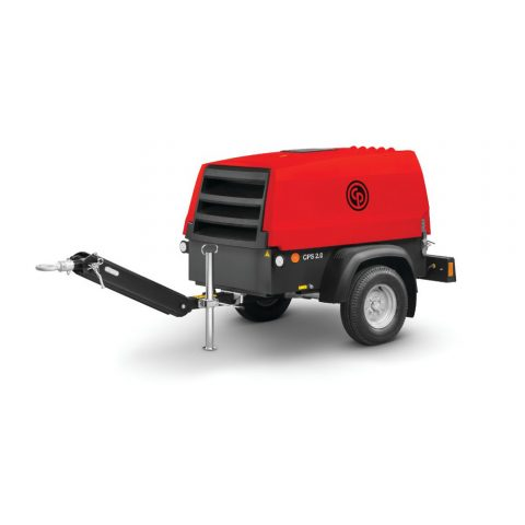 Mobile Dieselbetriebene Kompressoren CPS red rock serie